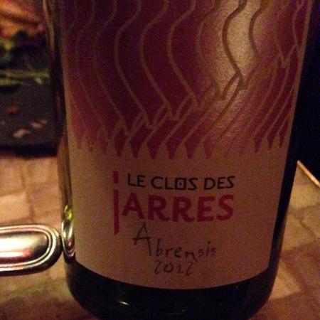 Les Clos Des Jarres Abrensis Grenache Blend 2014