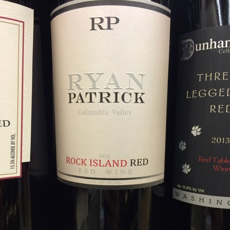 Ryan Patrick Vineyards Rock Island Red Columbia Valley Merlot Blend 2014