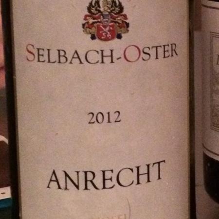 Selbach-Oster Anrecht Zeltinger Himmelreich Riesling 2012