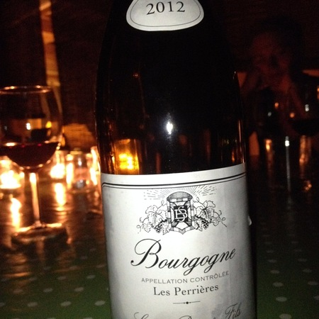 Simon Bize & Fils Les Perrières Bourgogne Chardonnay 2012 (1500ml)
