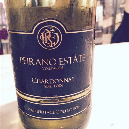 Peirano Estate Vineyards The Heritage Collection Lodi Chardonnay 2016