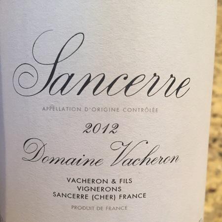 Domaine Vacheron Sancerre Sauvignon Blanc 2016