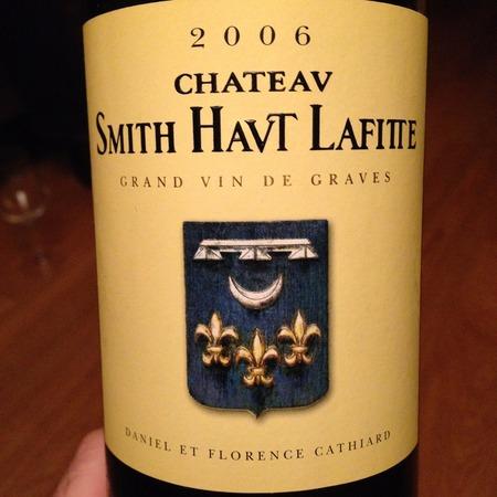 Château Smith Haut Lafitte Pessac-Léognan Blanc White Bordeaux Blend 2006