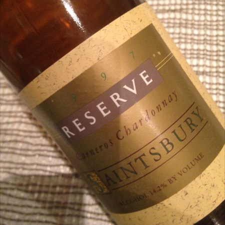 Saintsbury Reserve Carneros Chardonnay  1990 (1500ml)