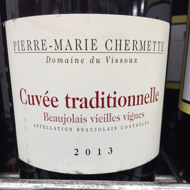Vieilles Vignes Cuvée Traditionnelle Beaujolais Gamay 2014