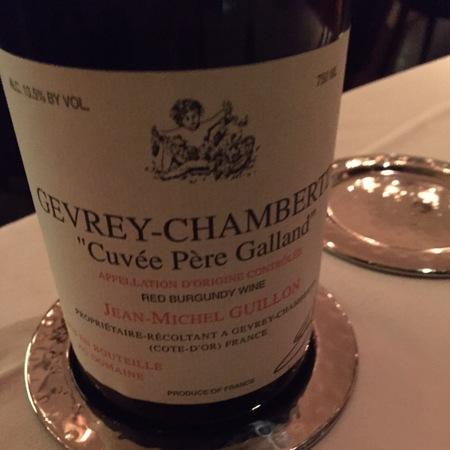 Jean-Michel Guillon Cuvée Père Galland Gevrey-Chambertin Pinot Noir 2015 (750ml 6bottle)