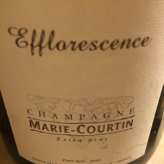 Efflorescence Extra Brut Champagne Pinot Noir 2010