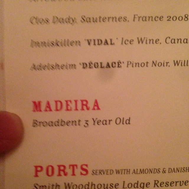 3 Years Old Madeira  NV