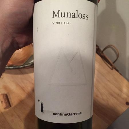 Cantine Garrone Munaloss Nebbiolo Blend 2016