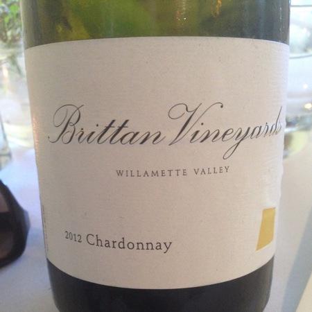 Brittan Vineyards Willamette Valley Chardonnay 2014
