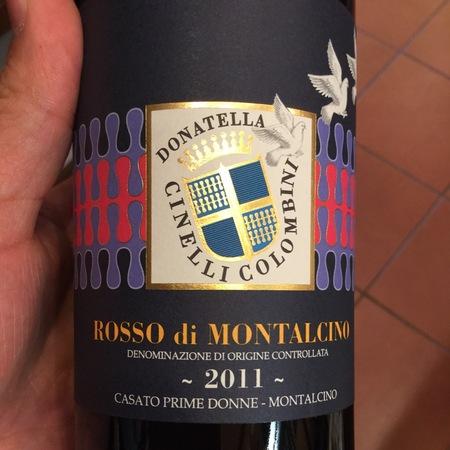 Donatella Cinelli Colombini Rosso di Montalcino Sangiovese 2015
