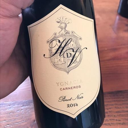 Hyde De Villaine Ygnacia Los Carneros Pinot Noir 2014