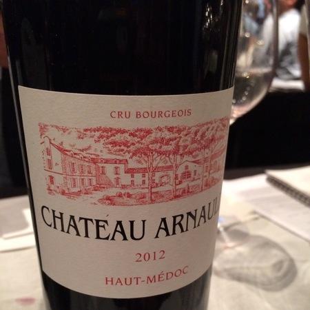 Château Arnauld Haut-Médoc Red Bordeaux Blend 2012
