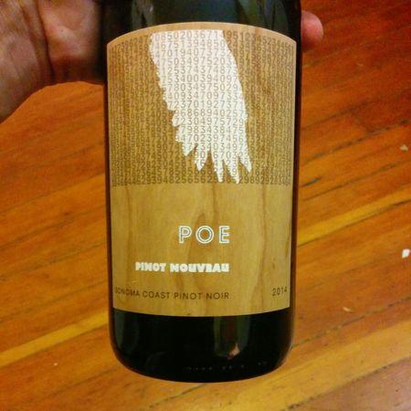 Poe Wines Pinot Nouveau Sonoma Coast Pinot Noir 2015