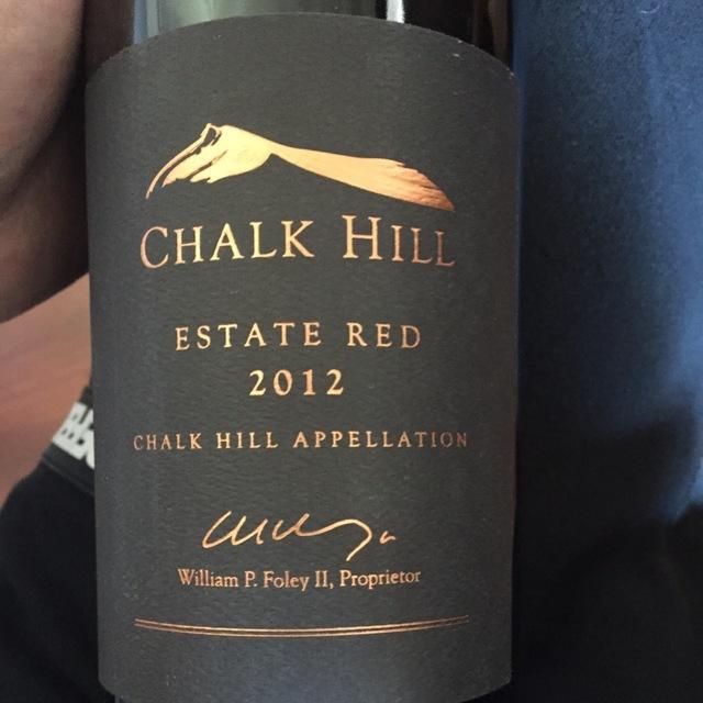 Chalk Hill Estate Chalk Hill Red Blend 2012