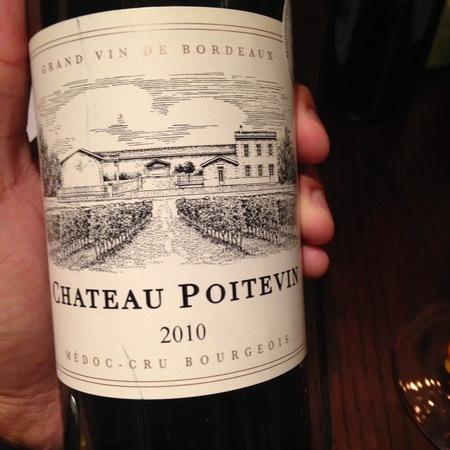 Château Poitevin Cru Bourgeois Médoc Red Bordeaux Blend 2015