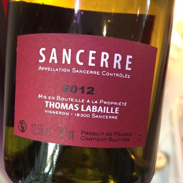 Sancerre Sauvignon Blanc 2015