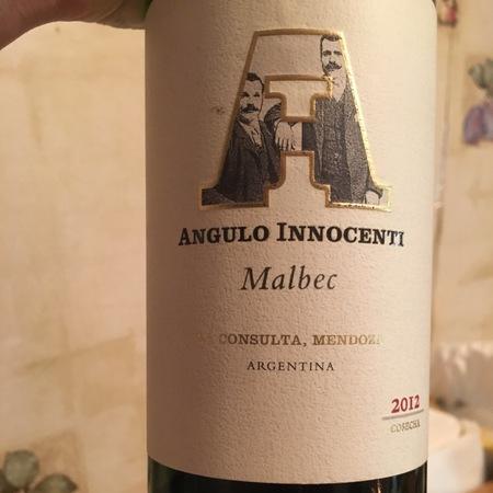 Angulo Innocenti La Consulta Malbec 2012