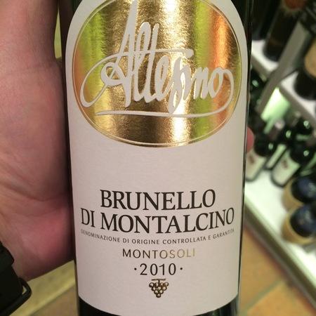 Altesino Montosoli Brunello di Montalcino Sangiovese 2012