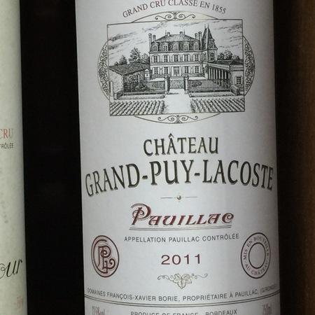 Château Grand-Puy-Lacoste Pauillac Red Bordeaux Blend 2011