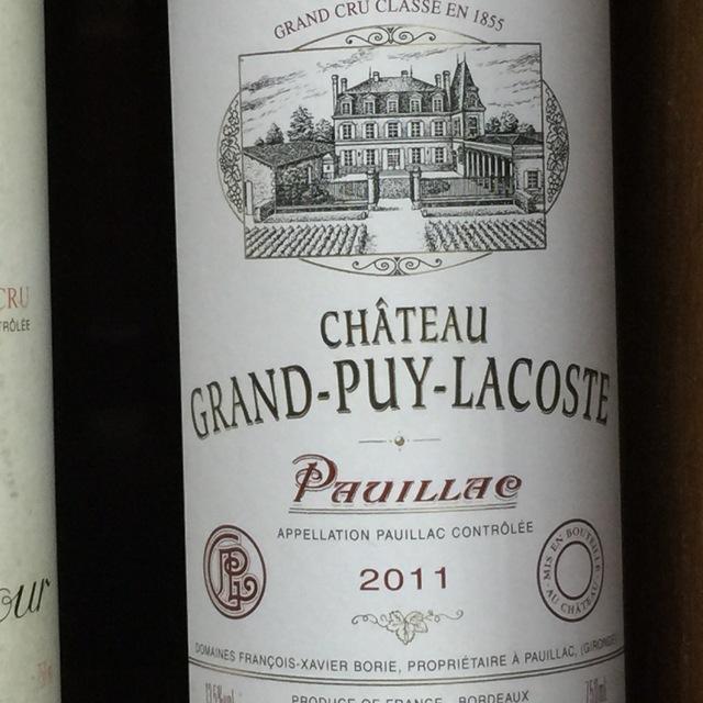 Pauillac Red Bordeaux Blend 2011