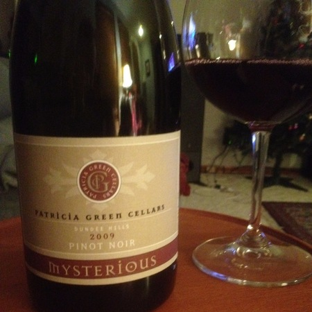 Patricia Green Cellars Mysterious Pinot Noir 2014