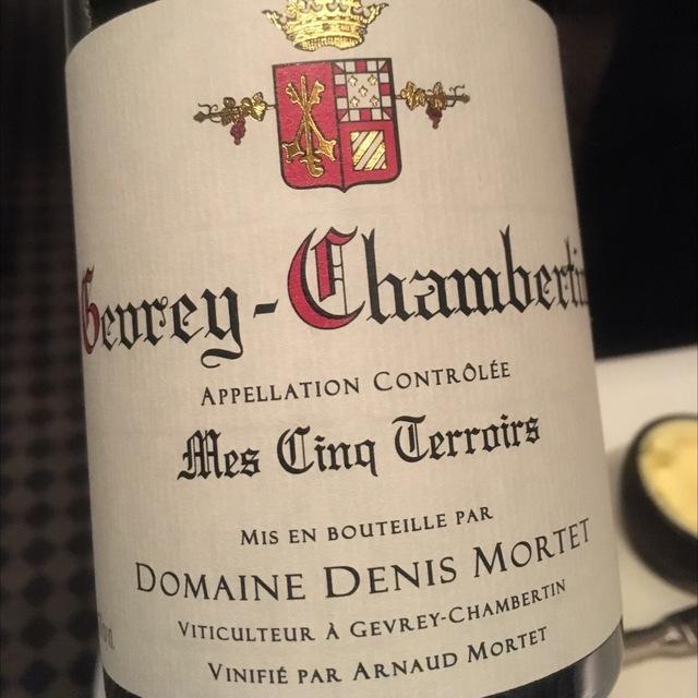 Mes Cinq Terroirs Gevrey-Chambertin Pinot Noir 2014