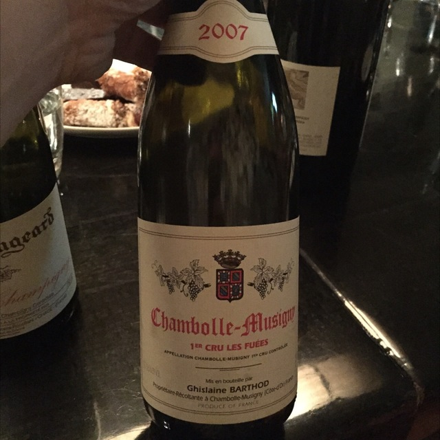 Les Fuées Chambolle-Musigny 1er Cru Pinot Noir 2007 (1500ml)