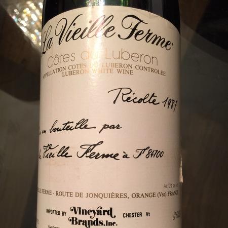 La Vieille Ferme (Perrin & Fils) Luberon White Rhone Blend 2015 (1500ml)