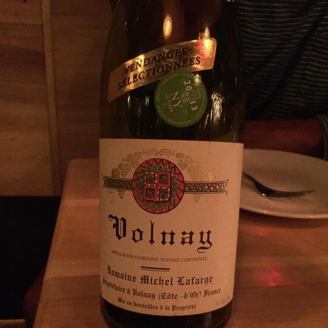 Clos des Chênes Volnay 1er Cru Pinot Noir 2013