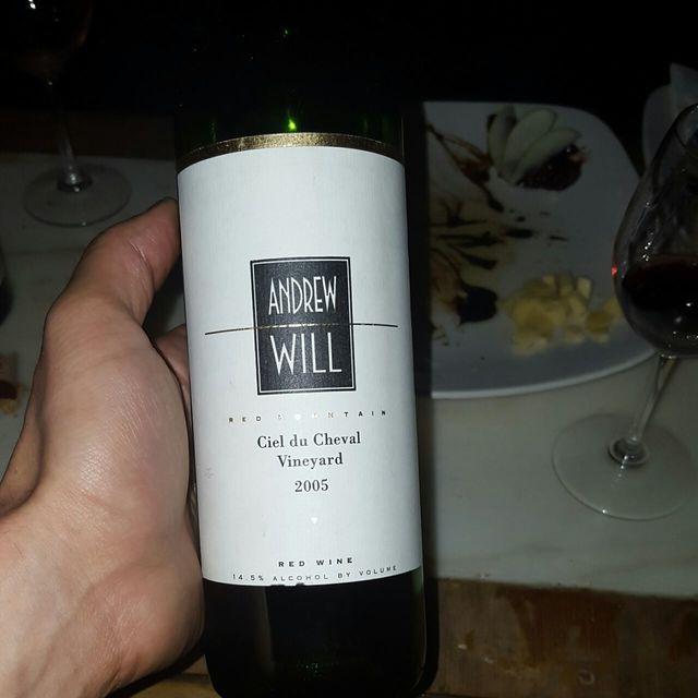 Ciel du Cheval Vineyard Red Blend 2010