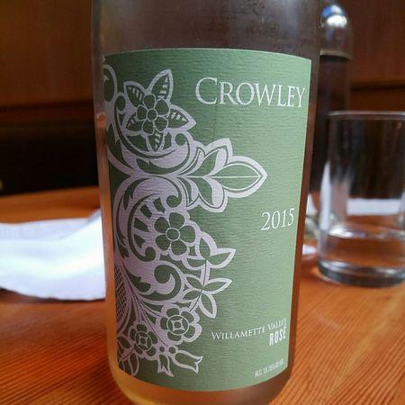 Crowley Willamette Valley Rosé Pinot Noir 2016