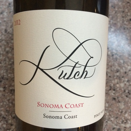 Kutch Wines Sonoma Coast Pinot Noir 2014