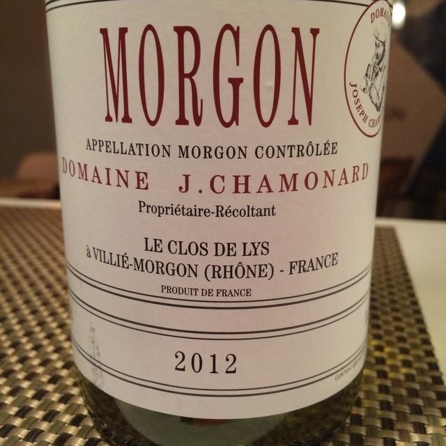 Le Clos de Lys Morgon Gamay 2012 (1500ml)