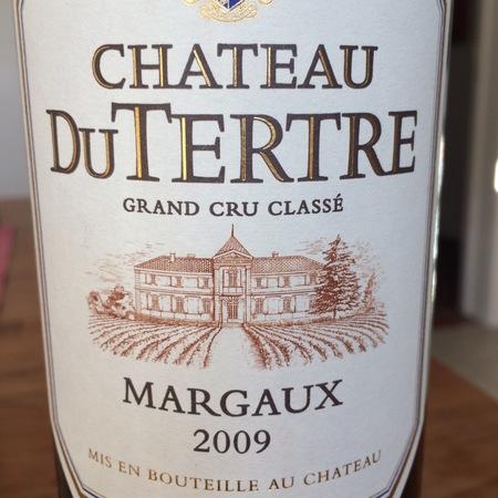 Château du Tertre Margaux Red Bordeaux Blend 2009
