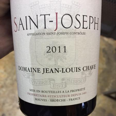 Domaine Jean-Louis Chave Saint-Joseph Syrah 2011