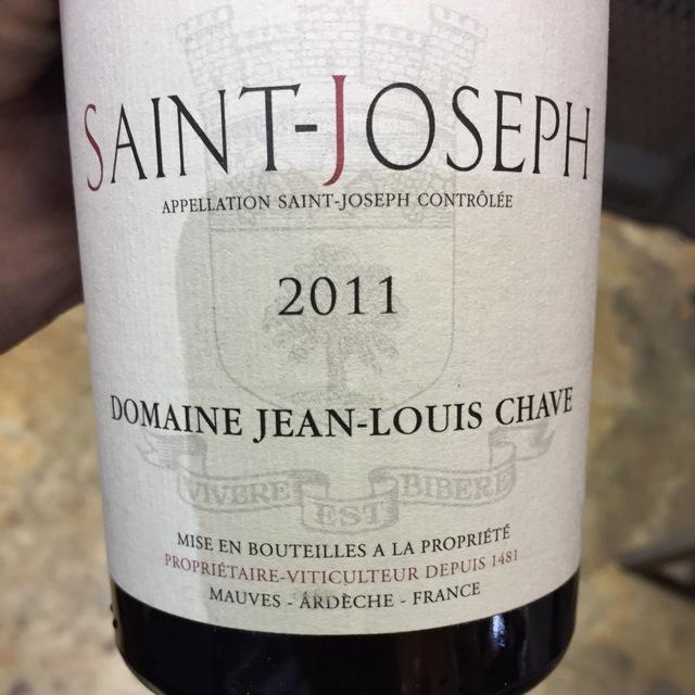 Saint-Joseph Syrah 2011