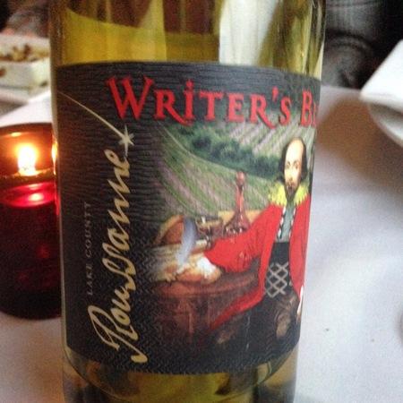 Steele Wines Writer's Block Lake County Roussanne 2015
