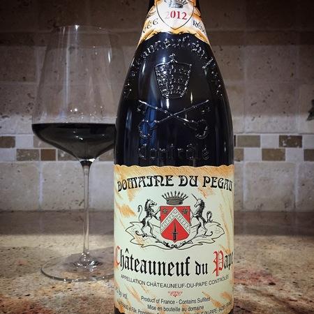 Domaine du Pegau Cuvée Réservée Châteauneuf-du-Pape Red Rhone Blend 2012