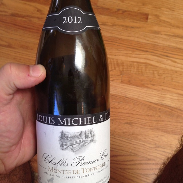 Montée de Tonnerre Chablis 1er Cru Chardonnay 2012