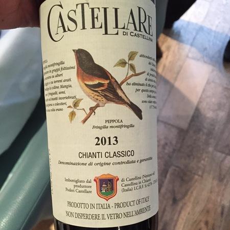 Castellare di Castellina Chianti Classico Sangiovese 2015