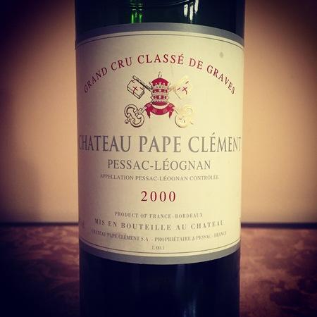 Château Pape Clément Pessac-Léognan Red Bordeaux Blend 2014
