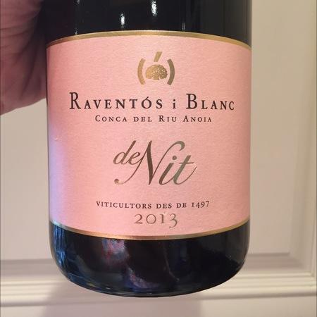 Raventos i Blanc de Nit Rosé Cava Blend 2013