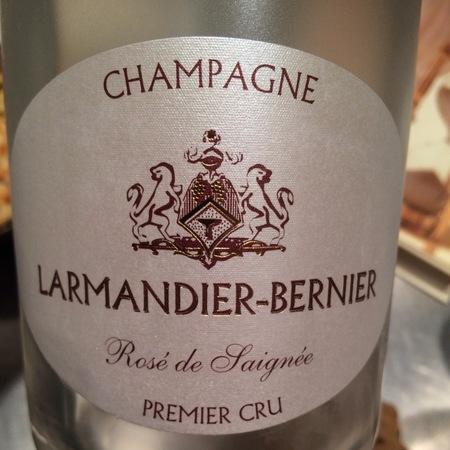 Larmandier-Bernier Rosé de Saignée 1er Cru Champagne Pinot Noir NV
