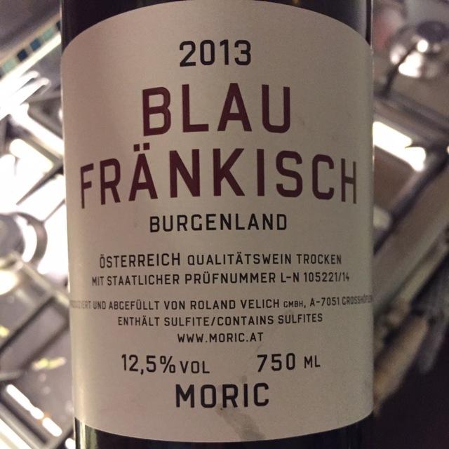Burgenland Blaufränkisch 2013