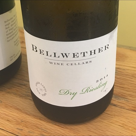 "Bellwether ""S"" Finger Lakes Dry Riesling 2015"