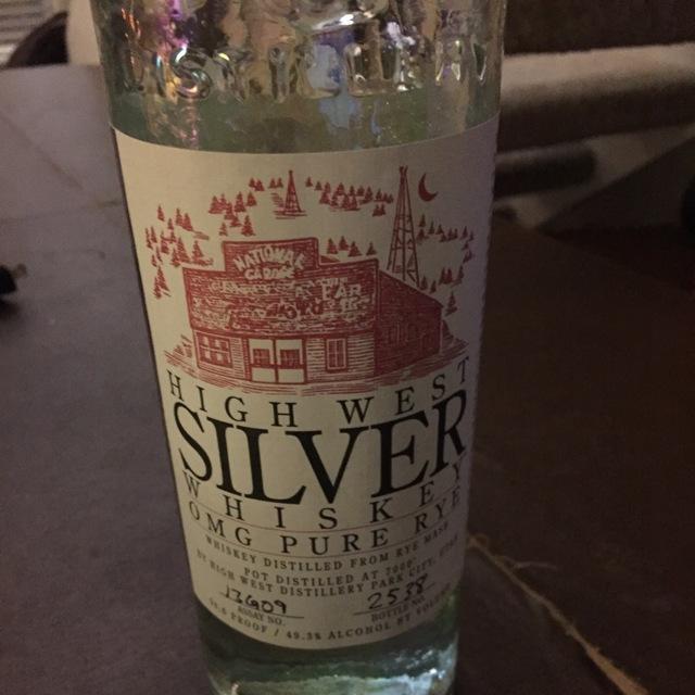 OMG Pure Rye Silver Whiskey NV