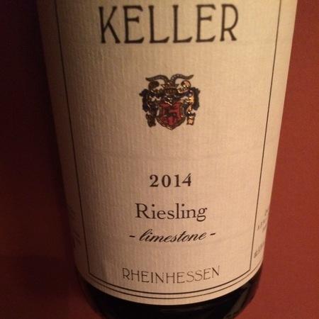 Weingut Keller Limestone Riesling  2016