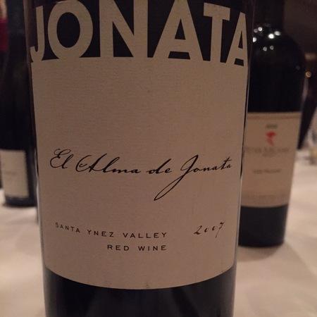 Jonata Winery El Alma de Jonata Santa Ynez Valley Red Bordeaux Blend 2013