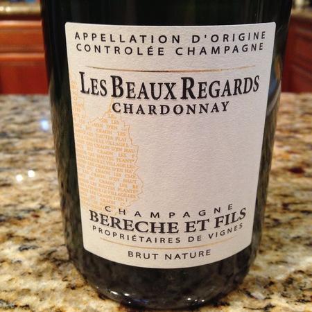 Bérêche & Fils Les Beaux Regards Brut Nature Blanc De Blancs Champagne NV
